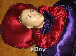 11 ZIP RUBBER-SISSY SUIT SATIN DICK WATTIERT DIAPER PLASTIK ADULT BABY 2,30m