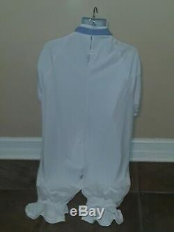 #124 ADULT Costume BABY SISSY Snap Crotch JUMPER withLock ABDL