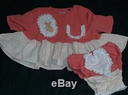#64 ADULT BABY SISSY Baby Doll Dress with Matching SNAP CROTCH Panties