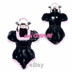 ABDL Adult sissy baby PVC Romper vinyl dress tailor-made