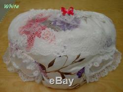 ADULT BABY FluffyPuffy Padded SissyPanties YellowithWhite