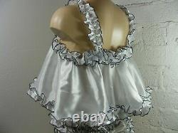 ADULT baby sissy satin babydoll negligee nightie dress camisole lingerie lolita