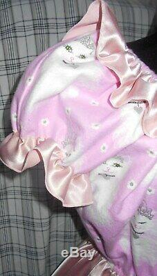 Adorable Kitty Adult Baby Little Girl Sissy Dress Custom Made to Your Size