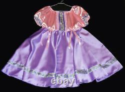 Adult Baby Dress Sissy Maid Zofe adult baby Satin XXL