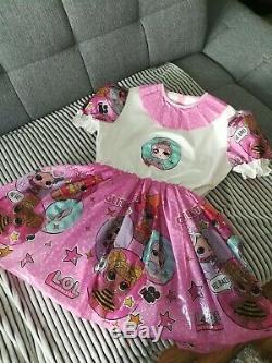 Adult Baby Kleid INTEGRIERTE Windelhose Sissy PVC LACK Diaper PRINZESSIN PLASTIK