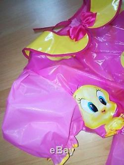 Adult Baby Kleid Windelhose Sissy PVC LACK Diaper Plastik Spreizhose Gr. M-L
