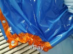 Adult Baby Sissy Aufbasbarer Rock Mit Integrierter Gummihose Lack Pvc Plastik