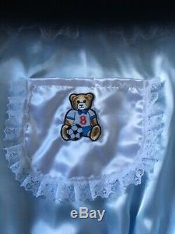 Adult Baby Sissy Baby Blue Romper / Playsuit up to 44 Chest teddy bear