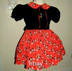 Adult Baby Sissy Minnie Mouse Dress By Besses