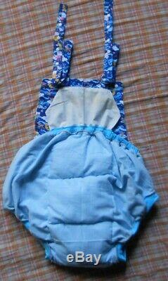 Adult Baby Sissy Padded Waddle Sun Suit