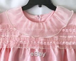 Adult Baby SissyROSES & PEARLS PINK PAGEANT Dress With TIARA OOAK Lovie n Me