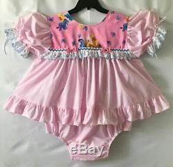 Adult Baby SissyWINNIE THE POOH Baby Girl Play/Diaper SetLovie n Me