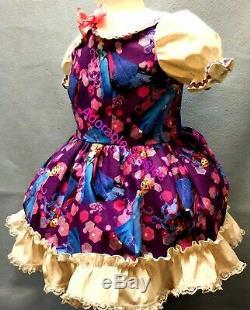 Adult Little Girl Baby Sissy Dress Custom made for you Frozen