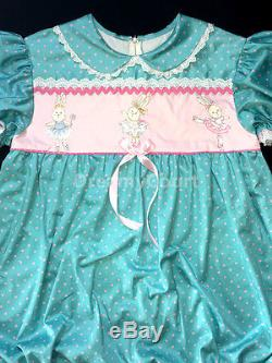 Adult Sissy Baby Girl Bubble Romper Baby Night Sleeper Bunny In Ballet