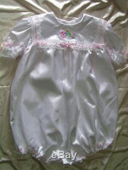 Adult Sissy Baby Girl Bubble Soft Romper