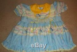Adult Sissy Baby Girl Doll Romper Dress By Bertabess