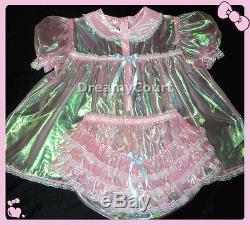 Adult Sissy Baby Super-shin Laser Baby Dress