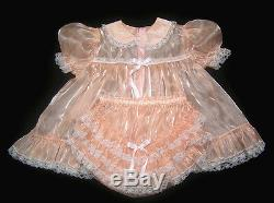Adult Sissy Baby Super-shin Mirror Baby Dress