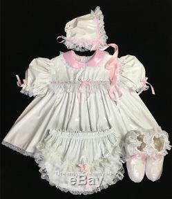 Adult Sissy Innocent Baby Pvc Dress 4 Items Set (s)