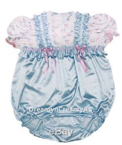 Adult Sissy Little Baby Romper Night Sleeper (bl) XL