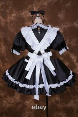 Adult Sissy baby Satin dress Unisex CD/TV Tailor-made