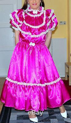 Adult baby Kleid Zofenkleid Sissy maid XXL