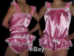 Adult baby Romper Body Sissy Maid XXL