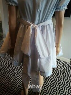 Adult baby sissy dress in Princess Charlotte embroider smocking style
