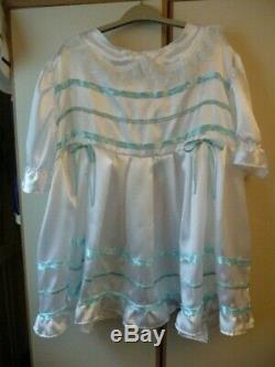 Adult baby sissy satin dress