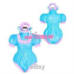 Adult sissy baby PVC Romper vinyl Unisex ABDL tailor-made