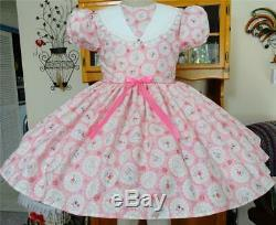 Annemarie-Adult Sissy Baby Girl Dress Doilies Your Measurements