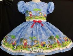 Annemarie-Adult Sissy Baby Girl Dress Here We Go ZingZing Ready to Ship