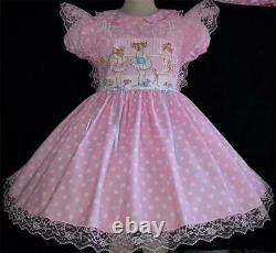 Annemarie-Adult Sissy Baby Girl Dress Lolita Ballet Babes Your Measurements