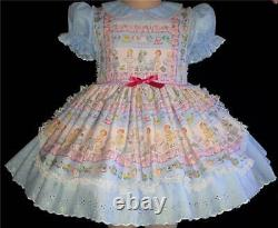 Annemarie-Adult Sissy Baby Girl Dress Lolita Paper Dolls Ready To Ship