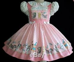 Annemarie-Adult Sissy Baby Girl Dress Lolita Party Parade Ready To Ship