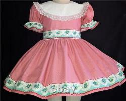Annemarie-Adult Sissy Baby Girl Dress Lolita Prim and Proper Ready to Ship