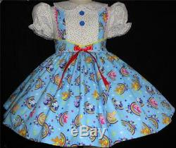 Annemarie-Adult Sissy Baby Girl Dress My Little Pony Your Measurements
