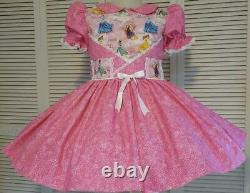 Annemarie-Adult Sissy Baby Girl Dress Princess Ball Ready to Ship