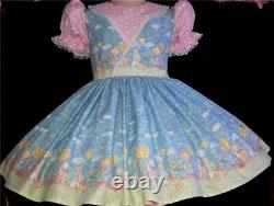 Annemarie-Adult Sissy Baby Girl Dress Too Cute Teddy Family Ready to Ship