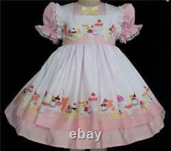 Annemarie-Adult Sissy Baby Girl Two Piece Dress IceCream Dreams Ready To Ship