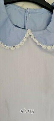 CD Adult Baby Sissy Blue Dress Chest 40 Waist 32 Inches