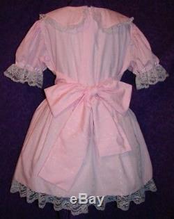 Classic Sissy Lolita Adult Baby Dress Aunt D