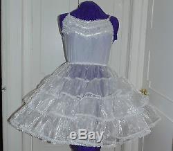 Crinoline Petticoat Organza Adult Baby Sissy Aunt D