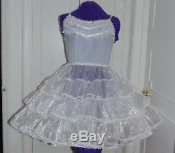 Crinoline Petticoat Organza Sissy Lolita Adult Baby Aunt D