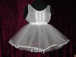 Crinoline Petticoat Tulle Sissy Lolita Adult Baby Aunt D