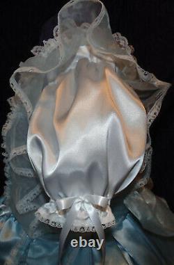 Divine Satin Sissy Lolita Adult Baby Dress Custom Aunt D