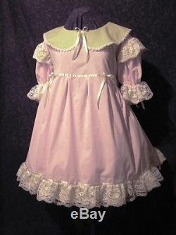 Frilly Adult Baby Sissy Dress Custom Aunt D