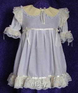 Frilly Mint Adult Baby Sissy Dress Custom Aunt D