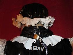 Lackoverall, Lackspielanzug, Adultbabys, Sissy, Vinylshortoverall, Vinyl-Playsuit