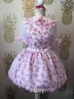 Made To Measure Sissy Maid Adult Baby Fetish Cd/tv Prissy Dress